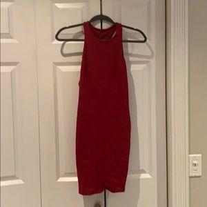 Solemio red dress